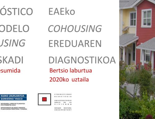 Diagnóstico del modelo de cohousing en Euskadi