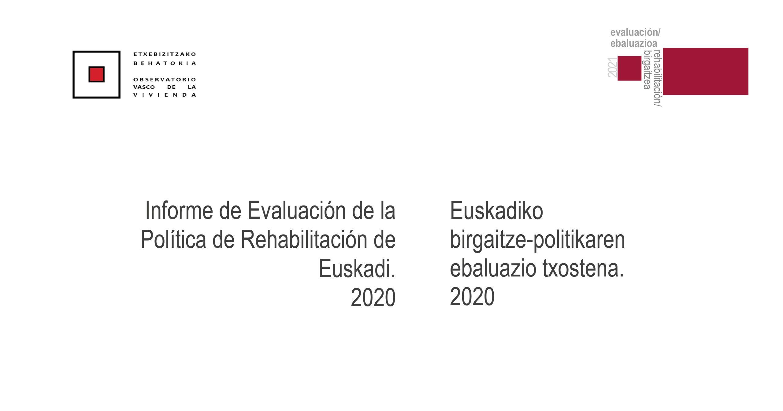 Birgaitze-politika azken lau urteetan Euskadin.