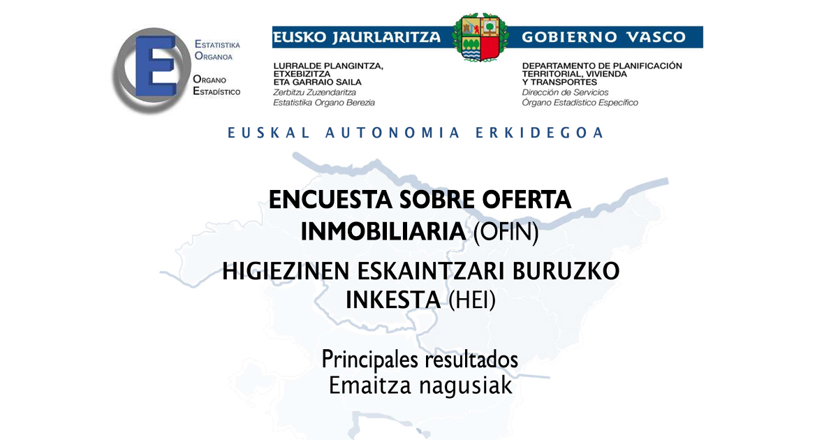 Etxebizitza berri libreen batez besteko prezioa 300.000 eurokoa da Euskadin, eta etxebizitza berri babestuena, 130.000 eurokoa